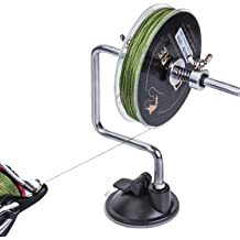 Supper Bobber Silver Station System Fishing Reel Line Winder on The Suction Cup Silver Size 4 x 6
