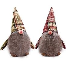 Tall Gnome Girl Freedare.com FREEDARE 100/% Handmade Gnome Plush Swedish Tomte Home Ornaments