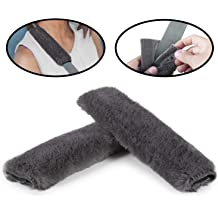 Gray A Must Have for Your Car Backpack 2-Pack Soft Car Seat Belt Shoulder Pad Cover for Adults and Kids Shoulder Bag Suitable for Car Seat Belt Laptop Bag Airzir Car Seat Belt Cover Pad