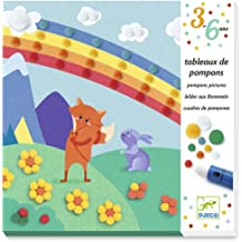 DJECO Action Games and Reflections Educational Games DJECOCreate with Animal Stickers Multi-Colour 100