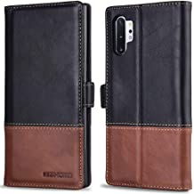 Magnetic Clasp Note 10 Plus//Pro Flip Case Cover with Gift Box Package Galaxy Note 10+ Wallet Case Note10Plus AMOVO Kickstand Card Slot Wrist Strap 2 in 1 Detachable 6.8/'/' 6. Folio Case for Samsung Galaxy Note 10 Plus Vegan Leather
