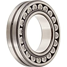 70mm Bore Pressed Steel Cage Round Bore Metric 97792lbf Static Load Capacity 95544lbf Dynamic Load Capacity 3000rpm Maximum Rotational Speed 51mm Width 150mm OD NSK 22314EAE4 Spherical Roller Bearing