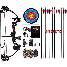 Silfrae Archery Compound Bow Release Arrow Release Aid Adjustable Wrist Strap