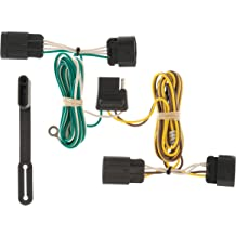 Jeep Vehicles CURT 56333 Vehicle-Side Custom 4-Pin Trailer Wiring Harness for Select Chrysler Dodge