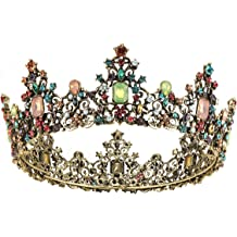 Wedding Birthday Party Baroque Majestic Hair Tiara Queen Princess Hat Decor