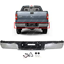 Chrome GM1103165 Steel Rear Bumper Assembly for 2011-2014 Chevy Silverado /& GMC Sierra 2500 3500 Heavy Duty W//Park 11-14 MBI AUTO