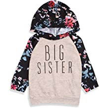 Toddler Baby Girls Hoodie,Spring Fall Sweatshirts Letter Print Hooded Pullover Blouse Top by Lowprofile 24M-4T
