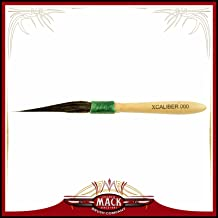Mack Brush 179-0 #0 Brown Pencil Quill W//Plain Wood Handle MACK SIGN