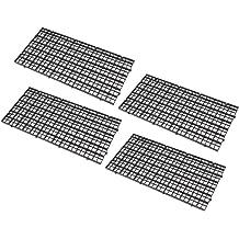 2 pcs grid divider tray egg crate louvre aquarium fish tank*bottom isolate HK