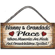 Nanny-Black Wrought Iron Wall Art Metal Home Decor Primitive