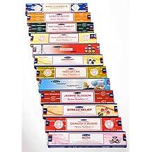 India/'s Best Satya Spiritual Healing dhoop Incense Sticks Yoga Agarbatti 12Pk15g