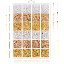 for Jewelry Beading Craft Making CF156-30 200pcs Top Quality Silver Flat Head Pins 30mm wire~21GA
