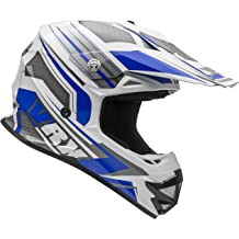 Vega Viper Jr Replacement Off-Road Helmet Visor with Stage Graphics Blue, One Size