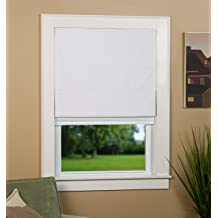 """Ivory North Country Window Wear Cordless Roman Shade 36/"""" W x 64/"""" L ~ Color"""