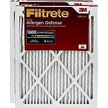 "3m Ultra Allergen Reduction Filter Ultimate 16/""X25/""X1/"" 1500 Mpr Merv 11-PK 6"