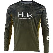 Huk Performance Fishing White Icon Shirt Sz 2XL XXL NEW NWT