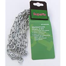 Supafix High Security Chain 800mm Bright Zinc Plated 4mm