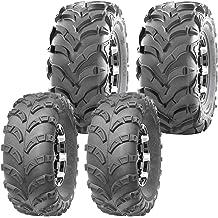 MOTOOS Set of 2 23x7-10 ATV UTV Tires 23x7x10 All-Terrain Mud Tires 6PR Tubeless