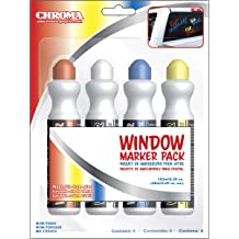 Chroma 9114 Ford Injection Molded Chrome Colored Emblemz Decal