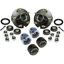 Boss Bearing K-ATV-FR-1001-6B5-B-5 Both Front Wheel Bearings and Seals Kit for Polaris Predator 90 2003-2006