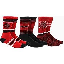 Serge Ibacka Serge Ibacka NBA Toronto Raptors Strideline Player Crew Socks