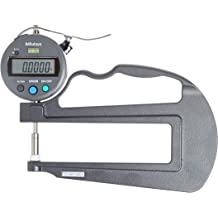 0-0.47//0-12mm Range +//-0.001 Accuracy Mitutoyo 547-361S Digimatic IDC Thickness Gage 0.0005//0.01mm Resolution Tube Thickness Anvil