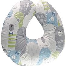 Green hicollie Baby Portable Detachable Feeding Pillows Self-Feeding Support Baby Cushion Pillow