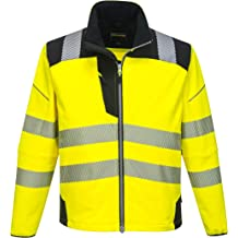 Reflective High Vis Raincoat Waterproof LIGHT WEIGHT Jacket Coat Country Hi-Vis