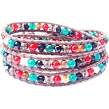 Pink Rhinestone Teardrop October Birthstone Charm for European Bead Bracelets id-296