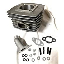 topend 25mm BGF 80cc G4 TOPEND Gas Motorized Bike Cylinder Piston Head Rings Lower Hole 15//6