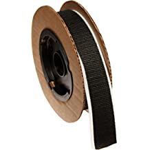 Standard Back 1 Wide VELCRO 1004-AP-PB//L Black Nylon Woven Fastening Tape Loop Type 10 Length