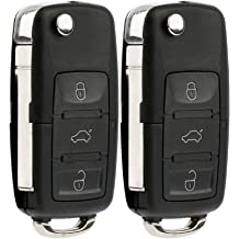 Dudely Replacement Shell Keyless Smart Remote Key Case Fob 2+1 Button for 2004-2009 Toyota Prius With Uncut Key Blade