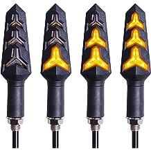 Kinstecks 3Pin Blinkrelais 12V Motorrad Blinker LED Blinker f/ür Motorrad Blinker Blinker