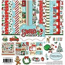 Blue Navy Carta Bella Paper Company CBMC107023 Paper red Green