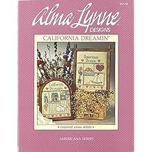 21 Designs Childhood Revisited Alma Lynne Cross Stitch Pattern Booklet