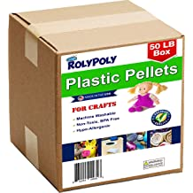 50LBS Plastic Pellets Bulk for Weighted Blankets Machine Washable /& Dryable