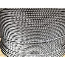 """1//8/"""" 7x7 Stainless Steel Cable Type 316 Marine Grade 500ft reel"""