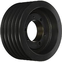 Uses SK Bushing Q 6 Groove Cast Iron Browning 6B56SK Q-D Sheave A or B Belt D Sheave