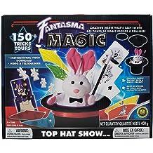 Learn 300 Fun Astonishing Magic Tricks Fantasma Astonishing Magic Set with Instructional Video /& Fully-Illustrated Manual Adults /& Children 7+