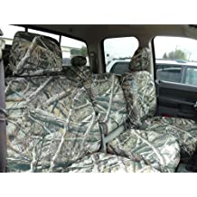 Durafit Seat Covers D1304-C8-FBA 2500-3500 Front 40//20//40 with Opening Console Custom in Gray Endura Complete Coverage.