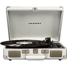 NEW Crosley BERMUDA DELUXE CR6233D-BK Bluetooth Record Player Turntable BLACK