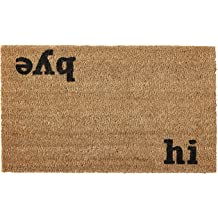 16 by 27 by 1-Inch Kempf Welcome Natural Coco Coir Doormat